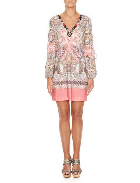 Ana Alcazar 046305 Paisley Dress PINK
