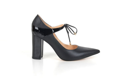 Brazilio ST5340003 Tie Shoe BLACK