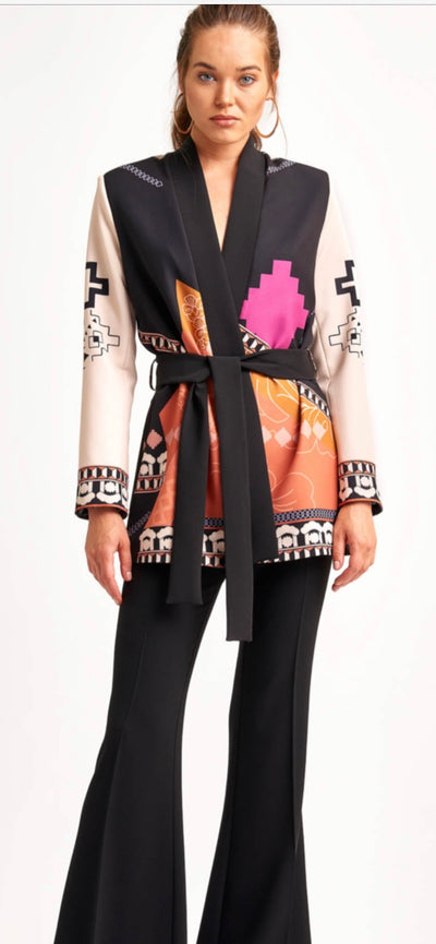 Miarte 18383 Labyrinth Jacket MULTI COLOUR