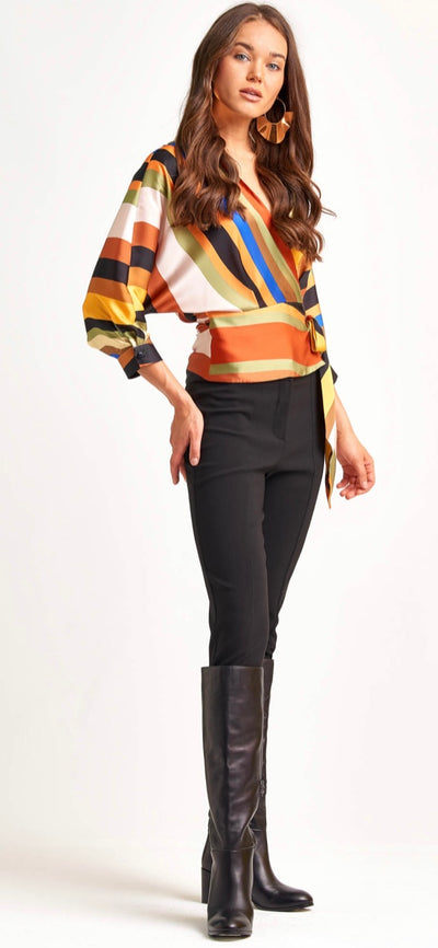 Miarte 10925 Josephine Blouse MULTI COLOUR