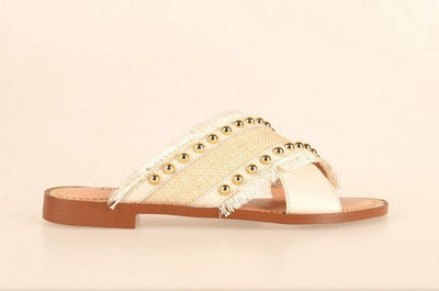 Brazilio KL3676717 Stud Slide NATURAL