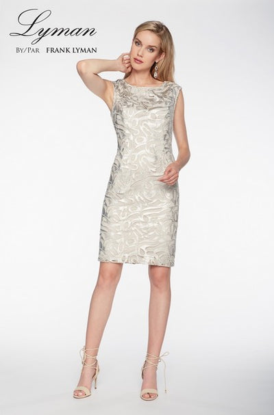Frank Lyman 198232 Alysar Dress CHAMPAGNE