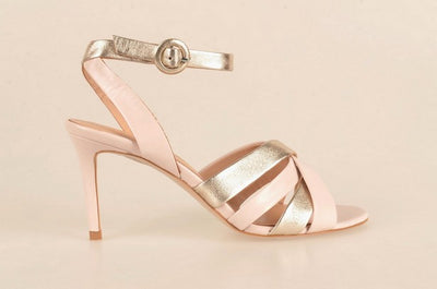 Gia 3920 Ankle Wrap Shoe TAUPE