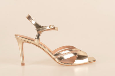 Gia 3969 Metallic Evening Sandal GOLD