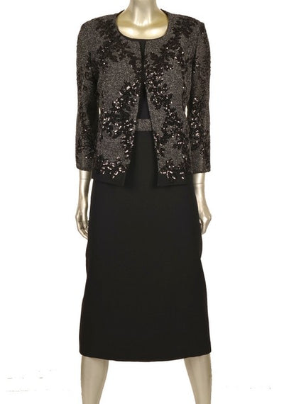 Nazzan 2245 Diana Dress and Jacket BLACK