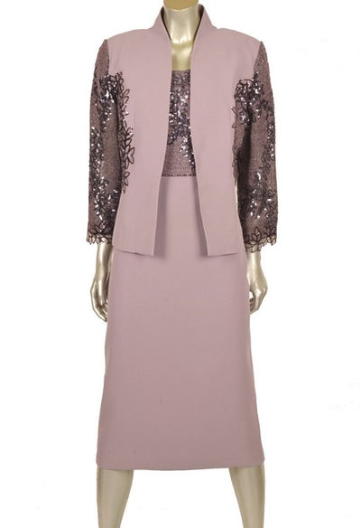 Nazzan 2243 Dalia Dress and Jacket LILAC