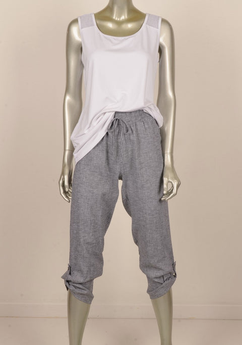 Picadilly FM949 Rhianna Pant BLACK/WHITE
