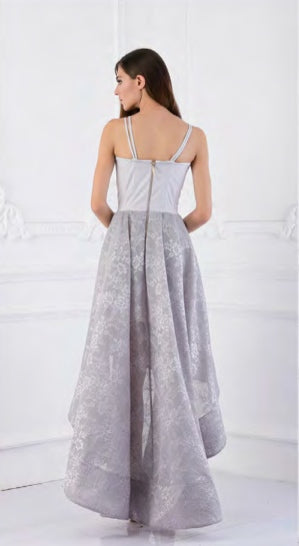 Bronx and Banco Champagne Gown SILVER
