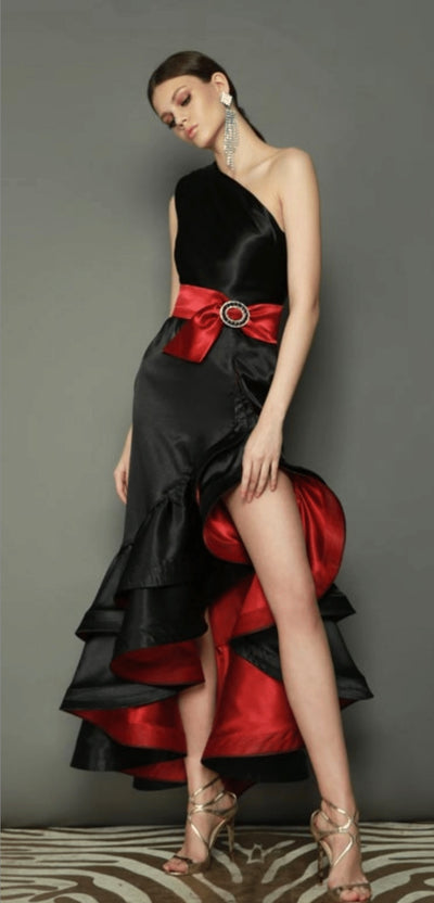 Bronx and Banco Rumba Gown BLACK