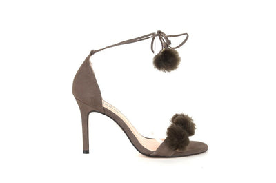 Brazilio ST5350003 Pom-pom Shoe SMOKE