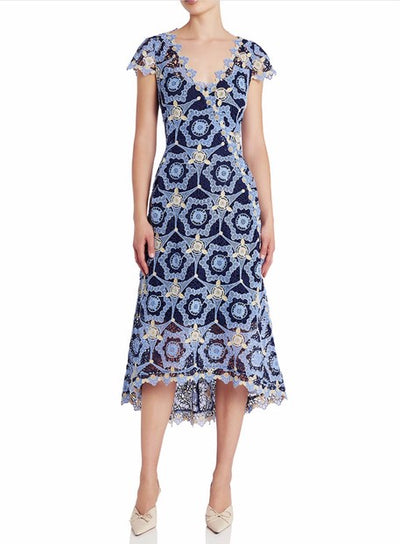 Moss and Spy 026007 Juliette Dress BLUE