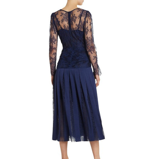 Moss and Spy 026009 Florence Dress NAVY