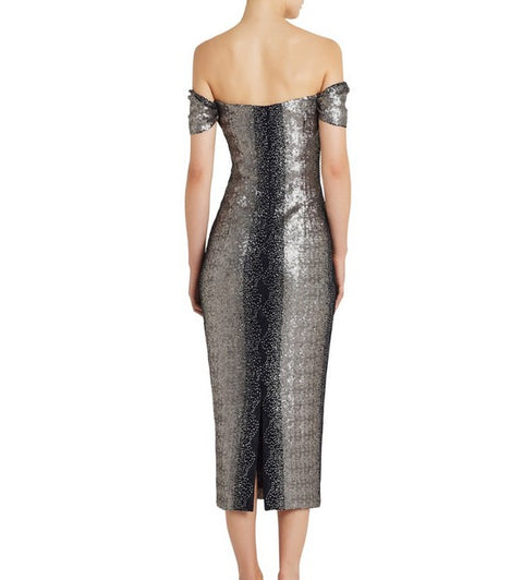 Moss and Spy 026027 Francis Dress GUNMETAL