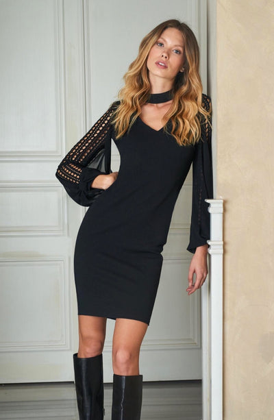 Miarte 13396 Lorraine Dress BLACK