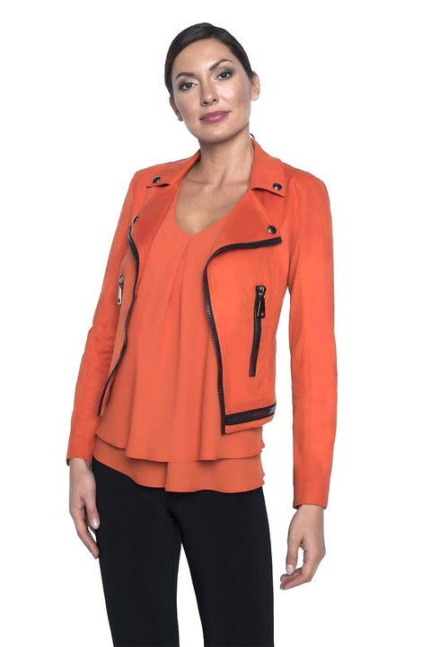 Frank Lyman 196085U Maverick Jacket ORANGE