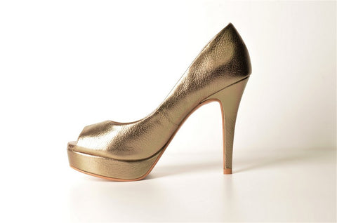 Brazilio ST5010000 Metallic Pump PEWTER