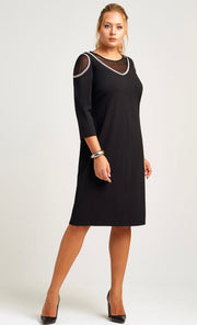 Neri 23313 Desiree Dress BLACK