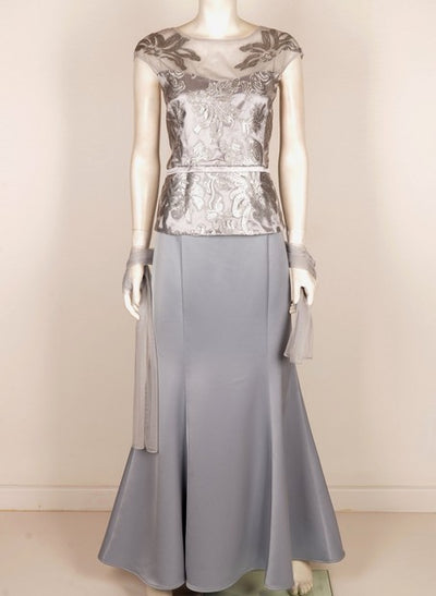 PSM 560PM Vodka Skirt Suit SILVER