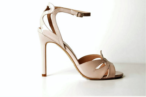 Gia 3607 Patent Slingback TAUPE