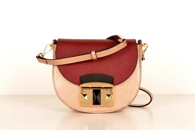 Cromia 1403873 Flap Cross Body Bag BORDO