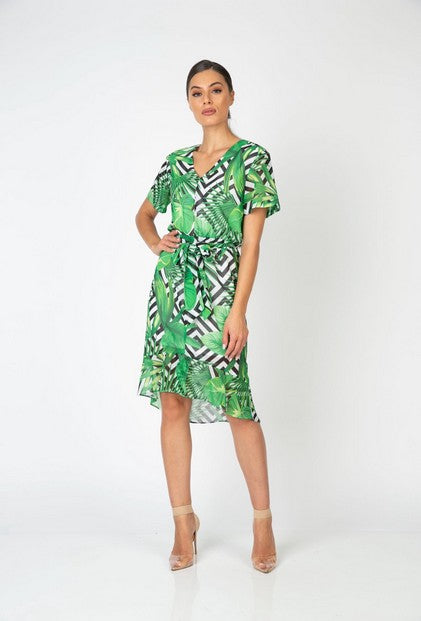 PSM PD203002 Palma Dress GREEN