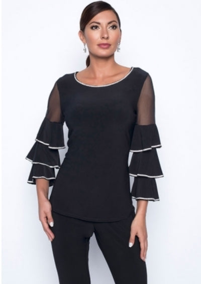 Frank Lyman 199002 Rafaella Top BLACK