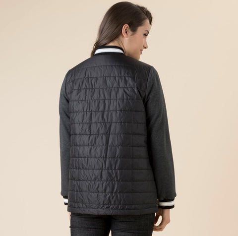 Threadz 35704 Puffa Jacket BLACK