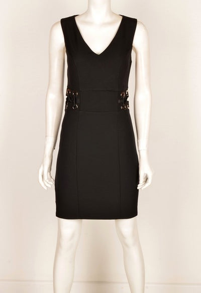 Mianotte 1604 Eyelet Dress BLACK