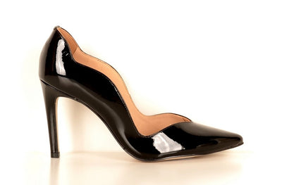 Brazilio AD4850 Scalloped Pump BLACK