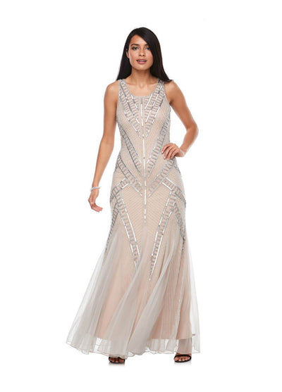 PSM Z0122 Sequin Gown MUSK