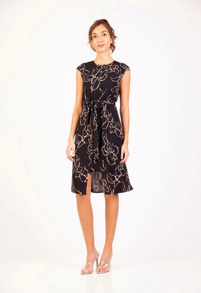 PSM PD204006 Oasis Dress BLACK