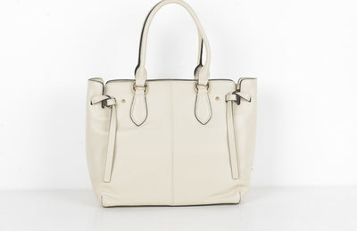 PSM P9569 Leather Shopper NATURAL