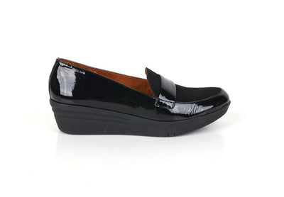 Neo MI17153 Wedge Loafer BLACK