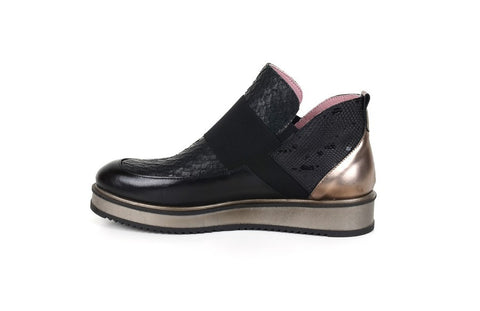 Neo ML1734 Mix Media Boot BLACK/GOLD