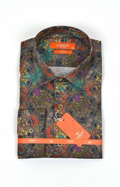 MARKOVA 140 PRINT SHIRT MULTI COLOUR