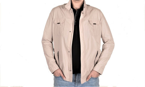 MONTESORI 1958 CASUAL JACKET STONE