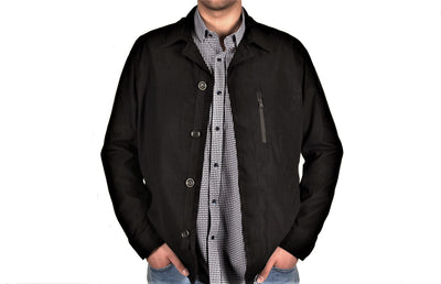 MONTESORI 1816 CASUAL JACKET NAVY