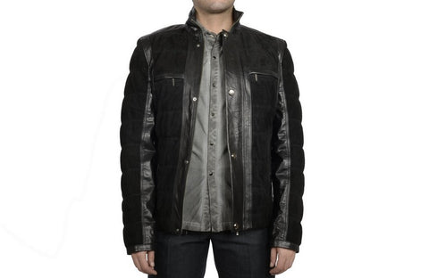 DERICCI LEATHER JACKET BLACK
