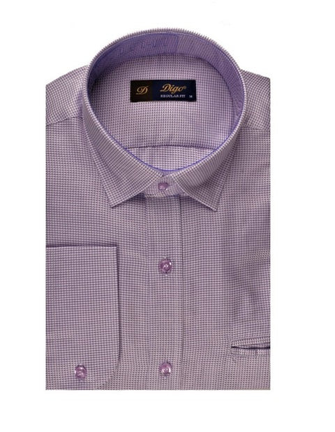 DIGO MINI CHECK CITY SHIRT LILAC