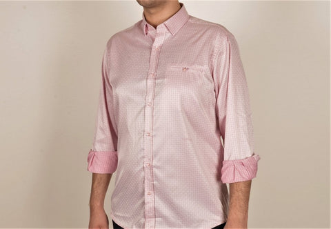 DIGO MINI CHECK CITY SHIRT PINK