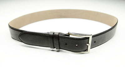 PSM Brown Pebble Leather Belt