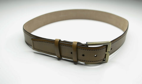 PSM Tan Leather Belt