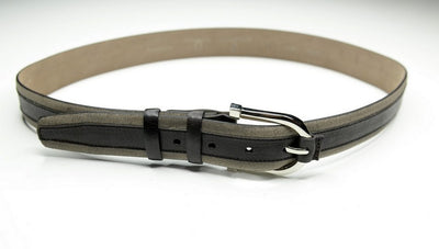 PSM Panel Leather Belt BROWN