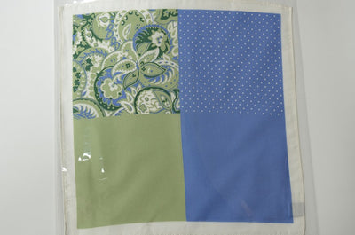 4 Pattern Silk Pocket Square MINT