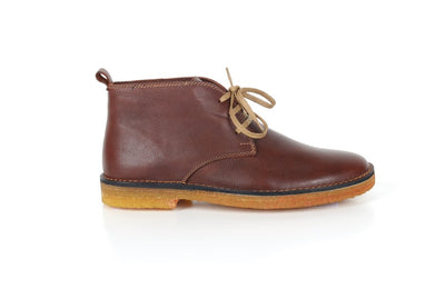 DANACI 1092 LACED LEATHER BOOT BROWN