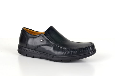 FLEX 308005 CASUAL SLIP-ON SHOE BLACK