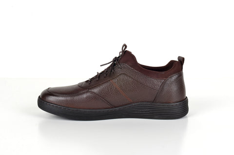 FLEX 130002 CASUAL LACE-UP SHOE BROWN