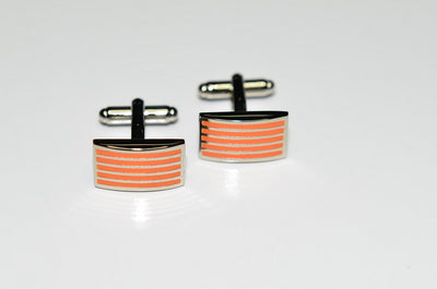 PSM Cufflinks ORANGE