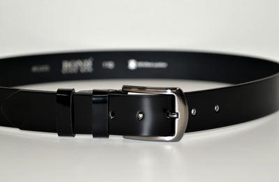 BOND 4600 LEATHER BELT BLACK