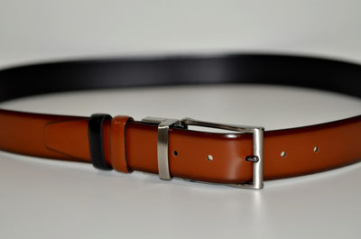 BOND 7340 REVERSIBLE BELT TAN